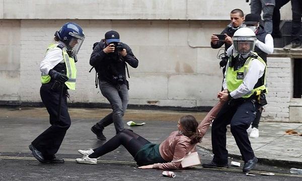 «مرگ فلوید» آتش زیر خاکستر قیام علیه نژادپرستی شد + تصاویر