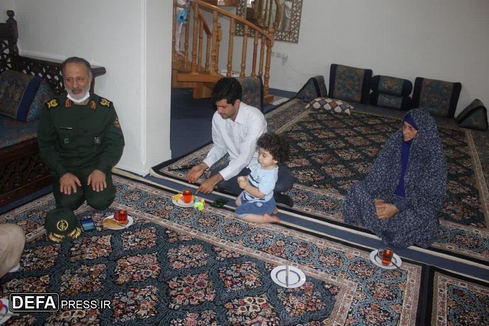 1023998 570 - تصاویر/ قدردانی مدیرکل حفظ آثار مازندران از خانواده سردار شهید «بردبار»