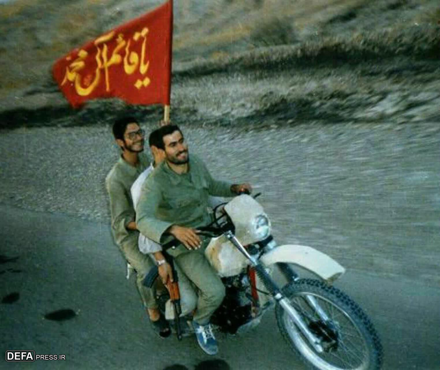 عکس / سه شهید در یک عکس