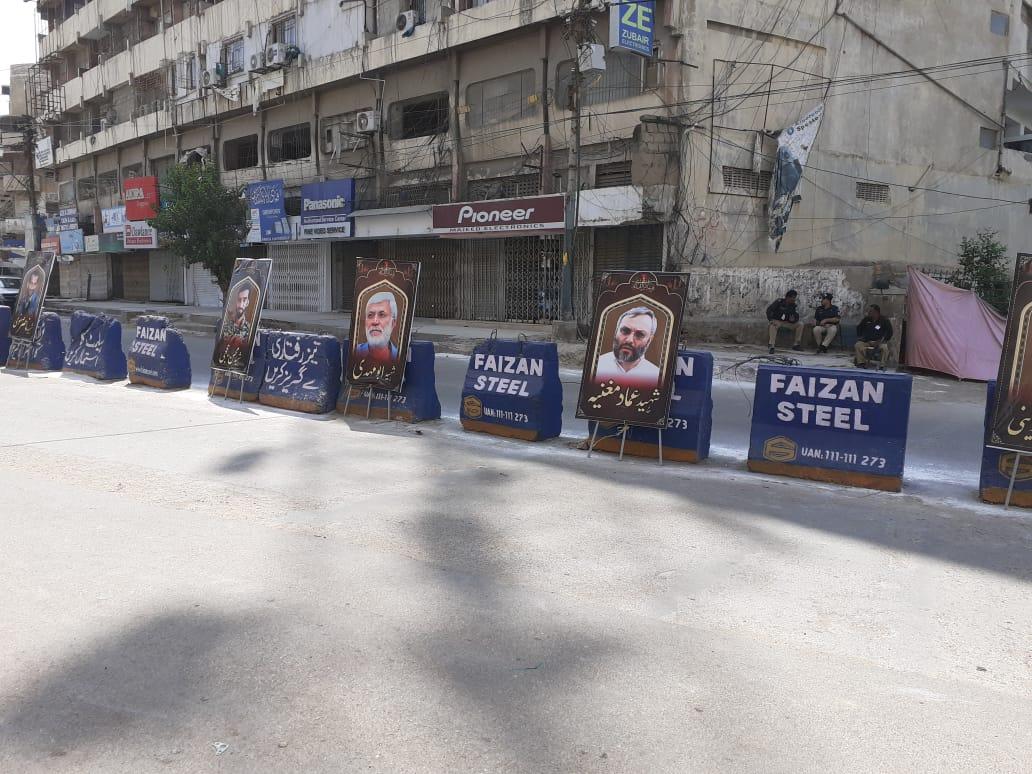 عرض ارادت عزاداران پاکستانی به شهدای مقاومت در راهپیمایی عظیم به مناسبت اربعین+ تصاویر