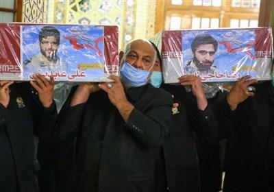 شهدای خانطومان به زیارت امام رضا(ع) رفتند+ تصاویر