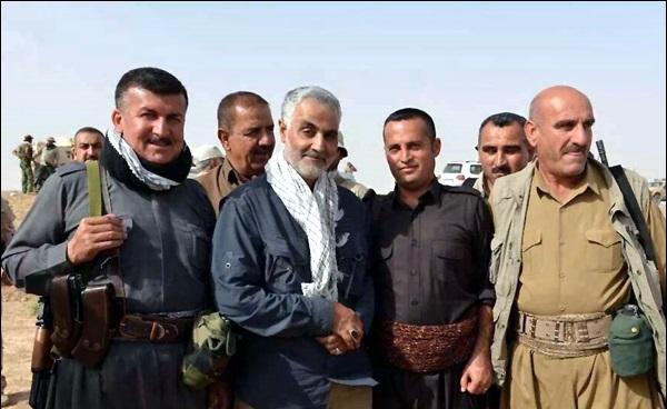 نقش حاج قاسم در ایجاد وحدت بین ایران و عراق/ چرایی نجات کردستان عراق از دست داعش