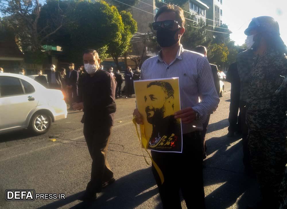 عطر مردانگی و غیرت بار دیگر در پایتخت پیچید