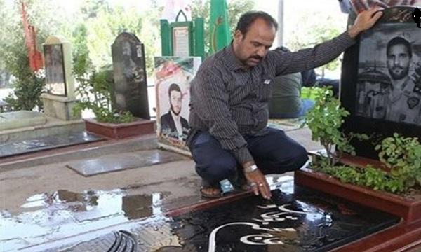 اجابت آرزوی اولین شهید مدافع حرم ارتش توسط رهبر معظم انقلاب پس از شهادتش