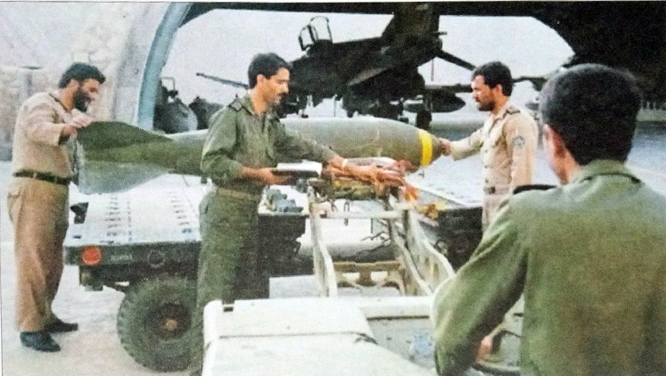 کابوس هشت ساله ارتش بعث از نیروی هوایی ارتش ایران
