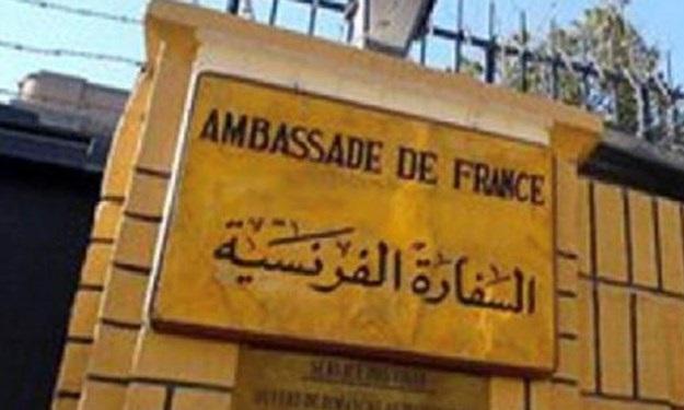 تدابیر شدید امنیتی مقابل سفارت فرانسه در بغداد