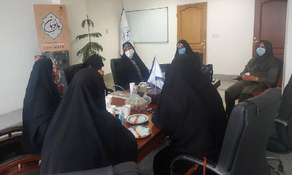 نشست جمعیت دختران شهدا برگزار شد