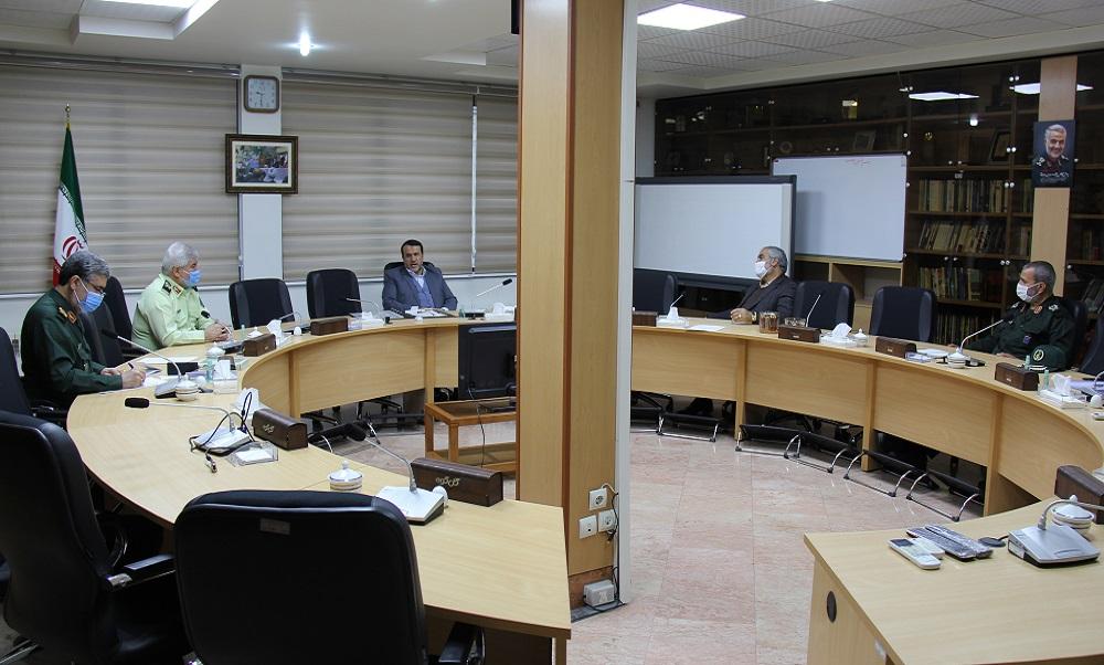 نشست بررسی روند ساخت موزه دفاع مقدس کردستان برگزار شد