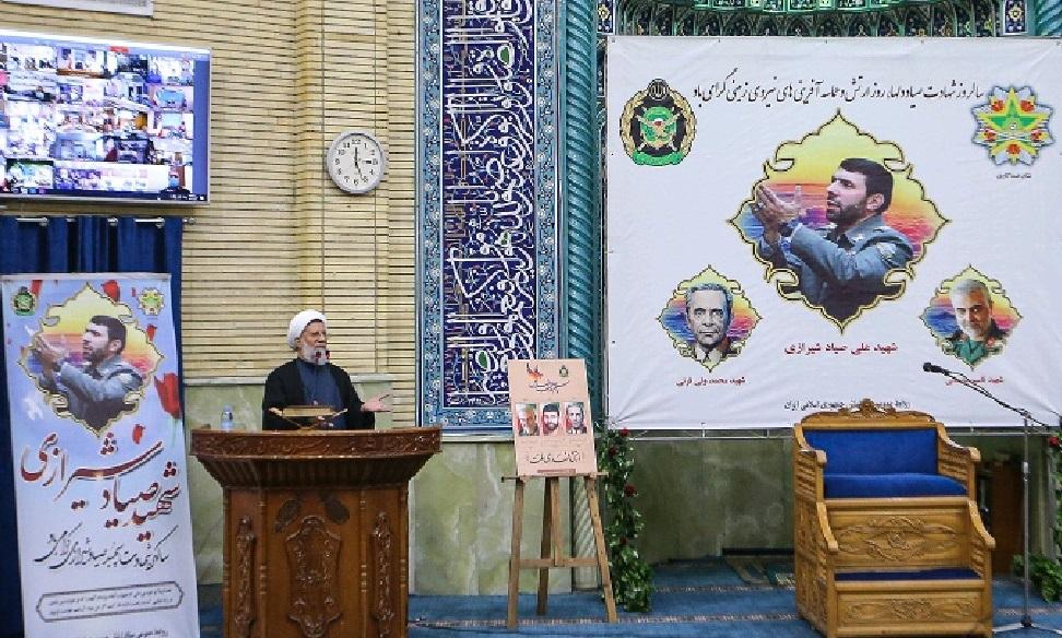 بوسه حضرت امام خامنهای بر تابوت شهید صیاد شیرازی، مهر تاییدی بر کارنامه جهادی آن شهید بود