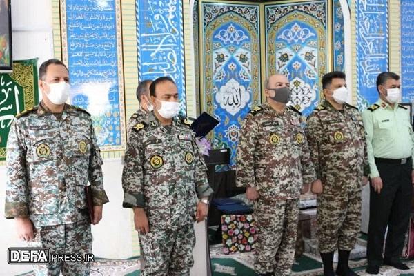 فرمانده جدید پایگاه پدافند هوایی حضرت معصومه (س) معرفی شد+ تصاویر