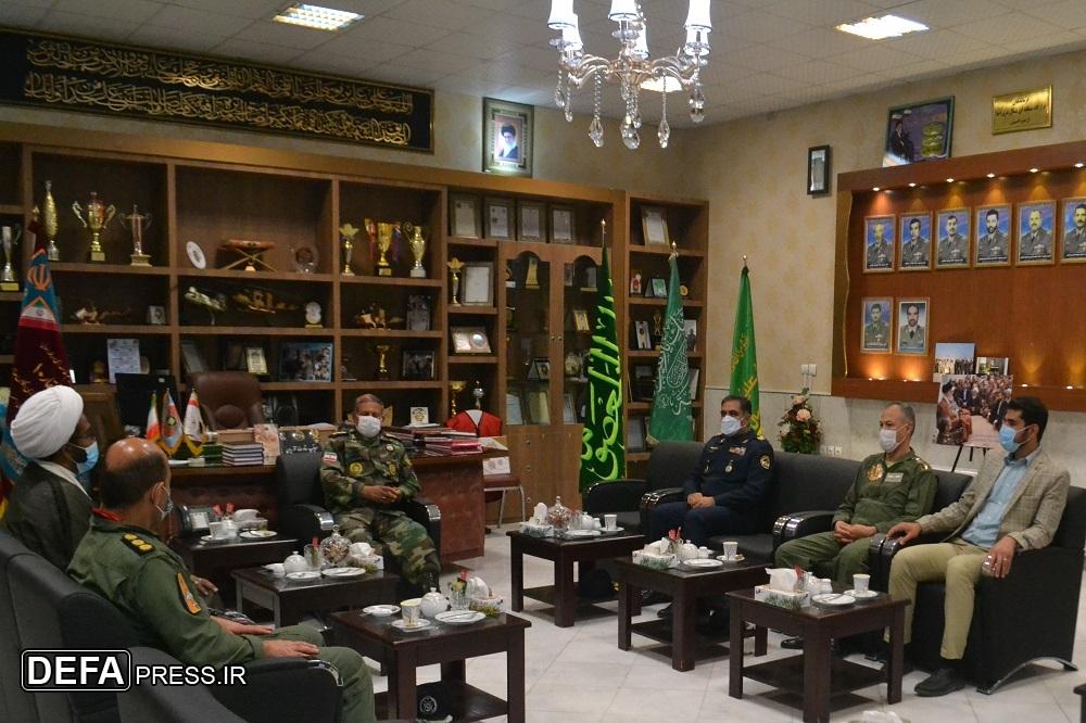 جلسه مشترک فرماندهان ارشد «نهاجا» و «نزاجا» در شرق کشور+ تصاویر