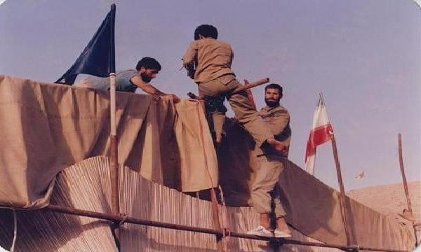 ماجرای برپایی حسینیه در اولین روز رمضان در جبهه
