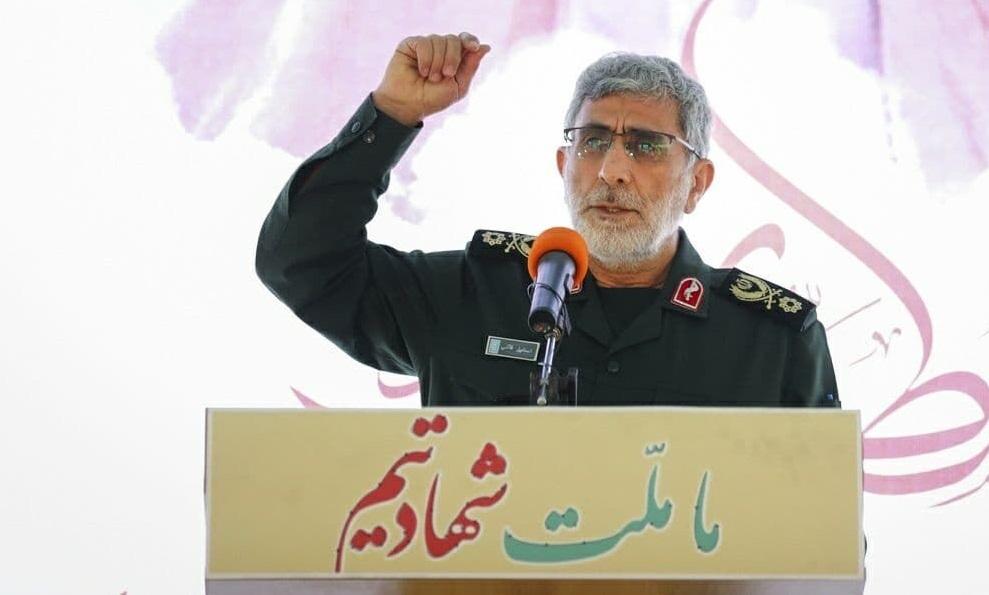 نیروی قدس سپاه، الگو و شاخص مجاهدان و علاقمندان فرهنگ مقاومت است
