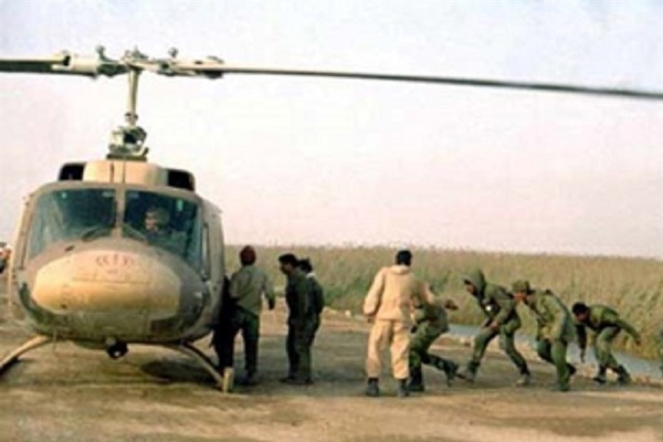 بمباران اسکلههای نفتی البکر و العمیه توسط جنگندههای ایرانی