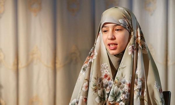 دلنوشته فرزند شهید مدافع حرم در روز دختر برای پدرش+ فیلم
