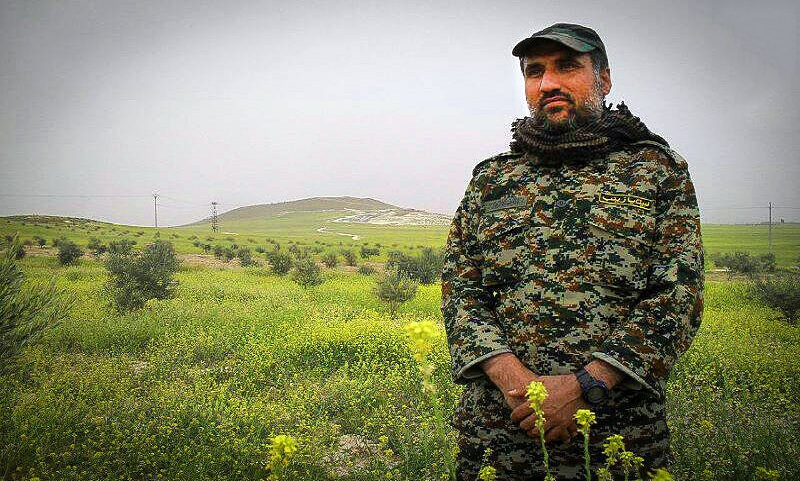 تاسی شهید ابراهیمی به امام حسین (ع) برای دفاع از حرم آلالله + فیلم