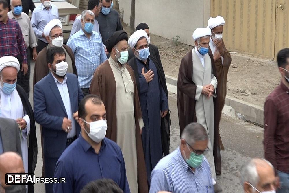 1375495 282 - آئین تشییع پیکر پدر شهیدان «شعبانی اسرمی» در نکا برگزار شد + تصاویر