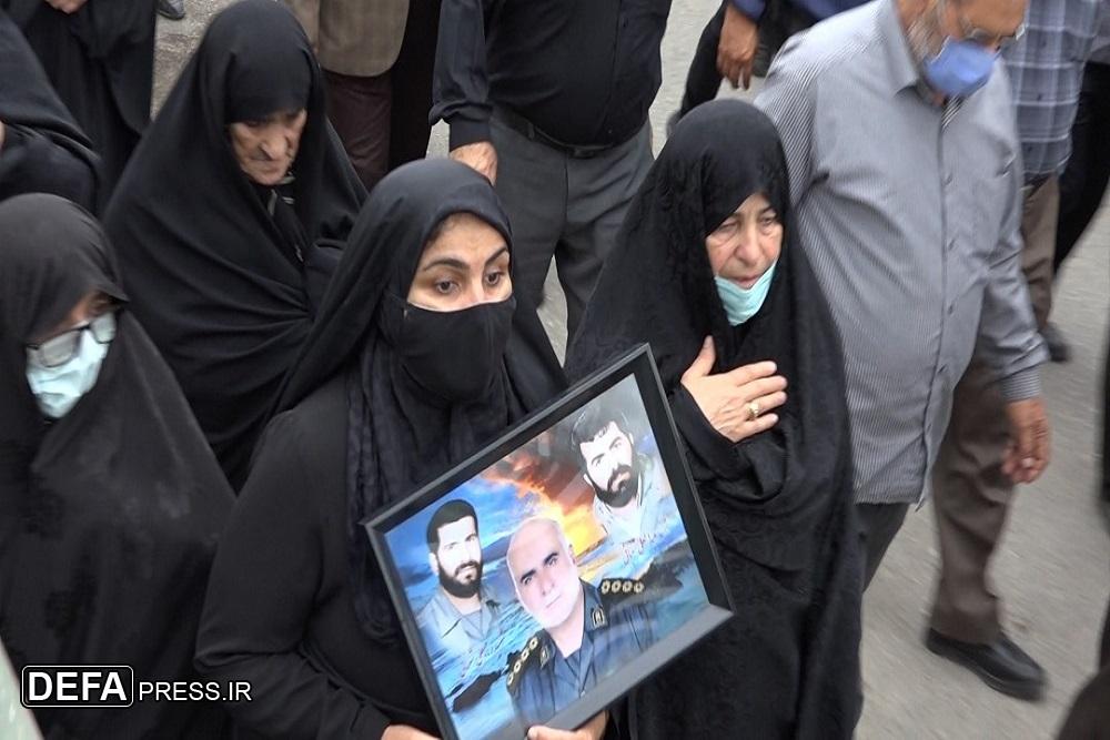 1375496 488 - آئین تشییع پیکر پدر شهیدان «شعبانی اسرمی» در نکا برگزار شد + تصاویر