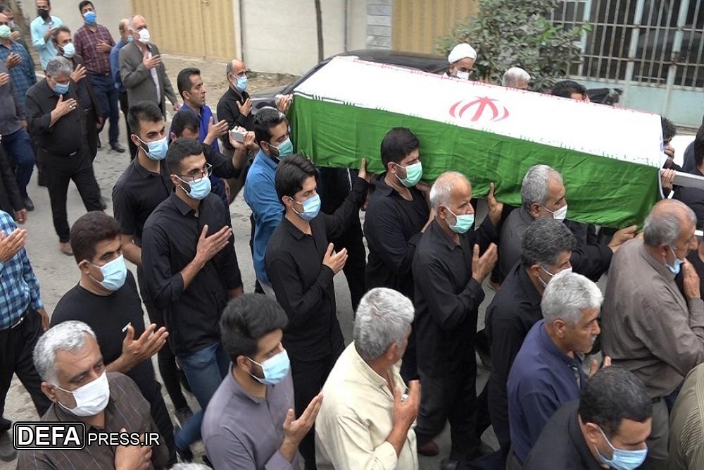 1375498 846 - آئین تشییع پیکر پدر شهیدان «شعبانی اسرمی» در نکا برگزار شد + تصاویر