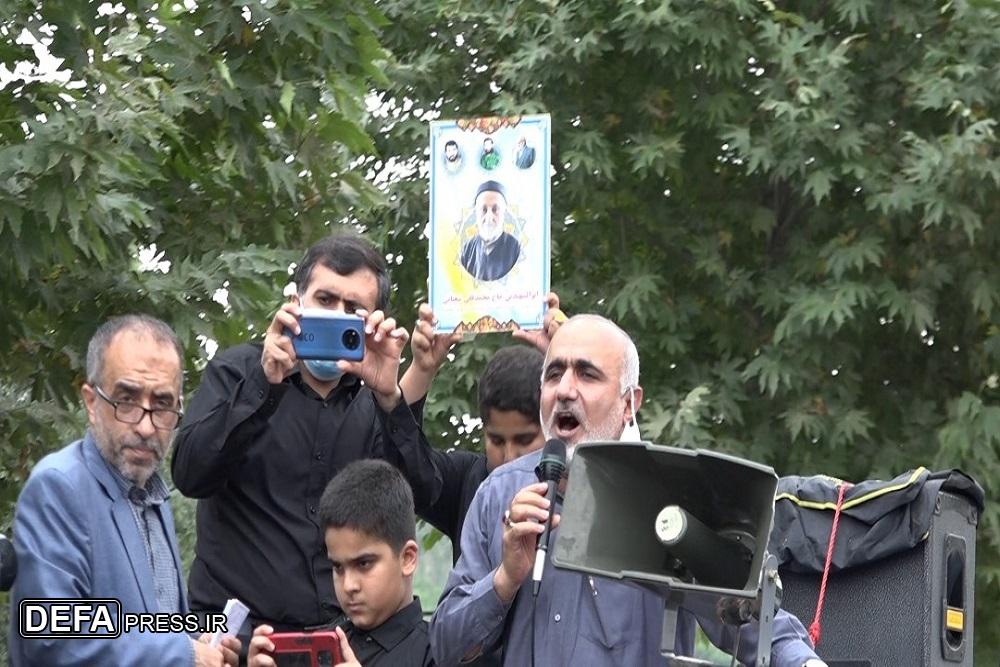 1375499 692 - آئین تشییع پیکر پدر شهیدان «شعبانی اسرمی» در نکا برگزار شد + تصاویر