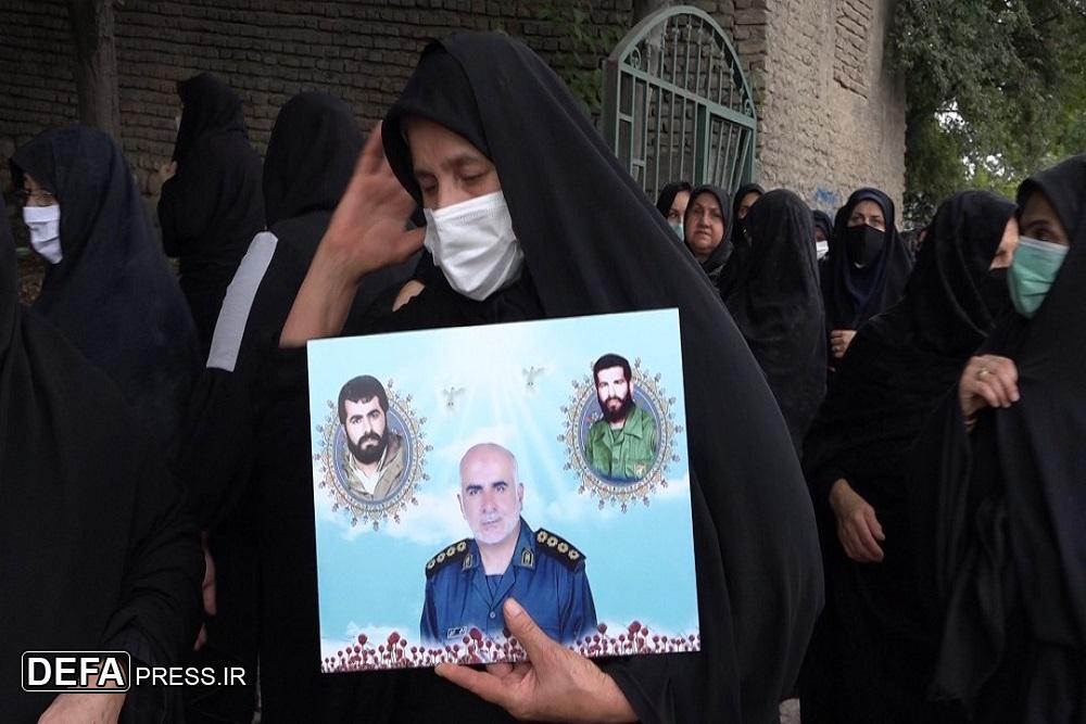 1375508 453 - آئین تشییع پیکر پدر شهیدان «شعبانی اسرمی» در نکا برگزار شد + تصاویر