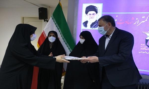 مراسم تجلیل از بانوان معاونت فرهنگی بنیاد شهید و امور ایثارگران برگزار شد