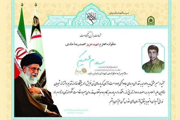 محمدرضا میدانست که شهید خواهد شد/ برادرم علاقه زیادی به امام خمینی (ره) داشت
