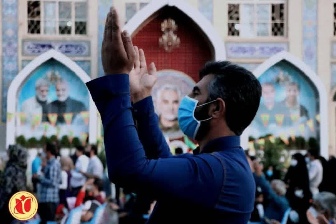 میزبانی حاج قاسم سلیمانی از زائران خود در عید غدیر+ تصاویر