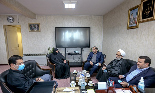 سردار «کارگر» با رئیس بنیاد شهید دیدار کرد