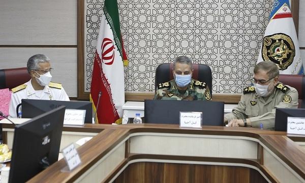 برگزاری نشست هماهنگی و هم افزایی فرماندهان و مسئولان عالی رتبه ارتش