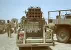 واحد107 ادوات -مینی کاتیوشا-گردان ذوالفقار-تیپ 27 محمد رسول الله-عملیات بیت المقدس-سمت راست(شهید محمد تقی پکوک)فرمانده واحد107