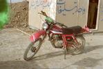 موتور سیکلت -واحد تبلیغات -در عملیات بیت المقدس