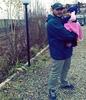 شهید جاویدالاثر محمد اینانلو و دخترش حلما
