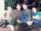از راست (نفر دوم طلبه شهید محمد کیهانی)
