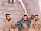 از راست(نفر اول سردار شهید علی هاشمی-نفر دوم سردار شهید حاج رضا امانی بنی)