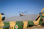 امدادرسانی ارتش درحادثه هواپیمای ATR-72