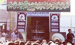 حضور مقام معظم رهبری در جمع جهادگران در دوران ریاست جمهوری