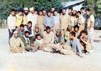 از چپ ایستاده (نفر چهارم پاسدار شهید اصغر بهفر)قبل از عملیات مسلم بن عقیل (ع))