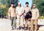 از راست (نفر سوم پاسدار شهید اصغر بهفر)
