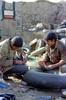 لجستیک سپاه پاسداران انقلاب اسلامی ایران - عملیات پنچرگیری لاستیک توسط رزمندگان اسلام