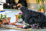 اولین پنجشنبه سال در کنار مزار شهدای شهرستان فراشبند استان فارس