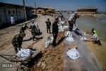 کمکرسانی نُجَباء به سیلزدگان اهواز و حمیدیه