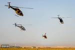 آیین تحویل دهی بالگردهای «شاهد» به نیروی زمینی سپاه پاسداران
