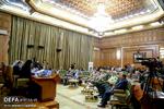 حضور رئیس بنیاد حفظ آثار و نشر ارزشهای دفاع مقدس در جلسه شورای اسلامی شهر تهران