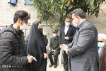 thm 1277355 574 - تصاویر/ دیدار عیدانه استاندار مازندران با خانواده شهید مدافع حرم «برسنجی»